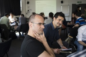 Project participants at workshop. Image by Sara Furlanetto