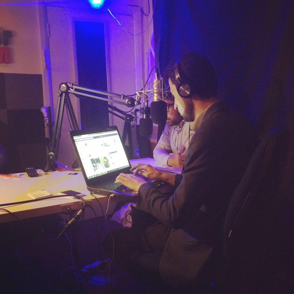 Azizrahman Omid Azizi presenting on Afghan Voice