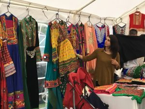 Afghan traditional Kochi dress for sale at Afghan Cultural Festival