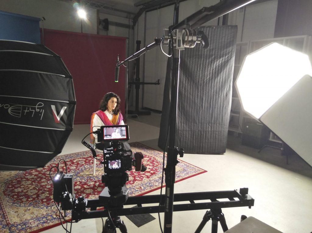 Female Journalist Nabeelah Shabbir